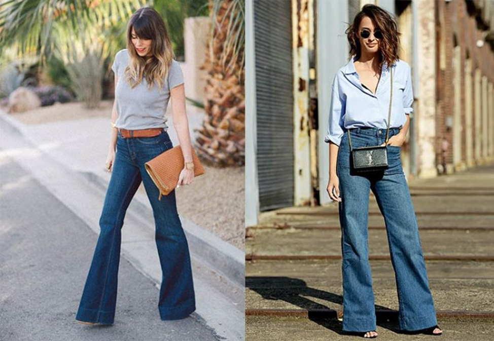 джинсы клеш из сша